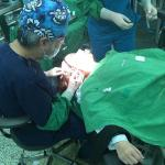 韩国新帝瑞娜的郑院长亲自做面部脂肪填充,...
