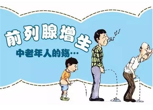1).前列腺增生