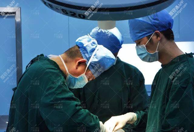 是采用进口手术器械进行高精缝合